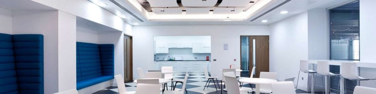 Suspended ceilings banner one