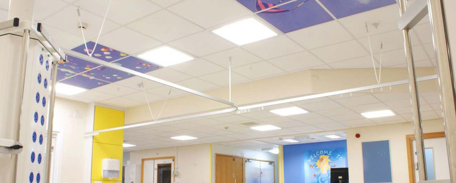 Suspended ceilings banner image