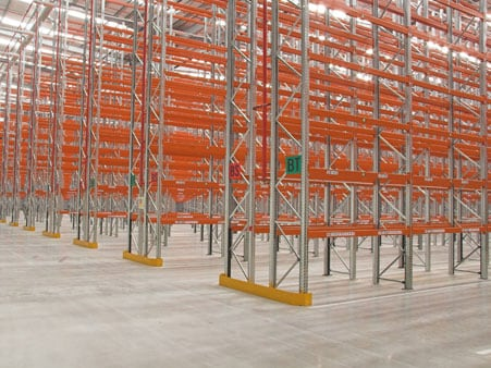 Commercial shelving and racking banner image