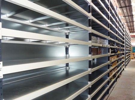 industrial shelving & racking