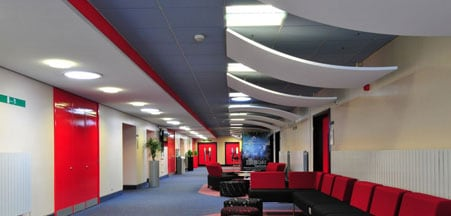 suspended ceiling contractors bedford