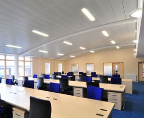 office suspended ceilings bedford