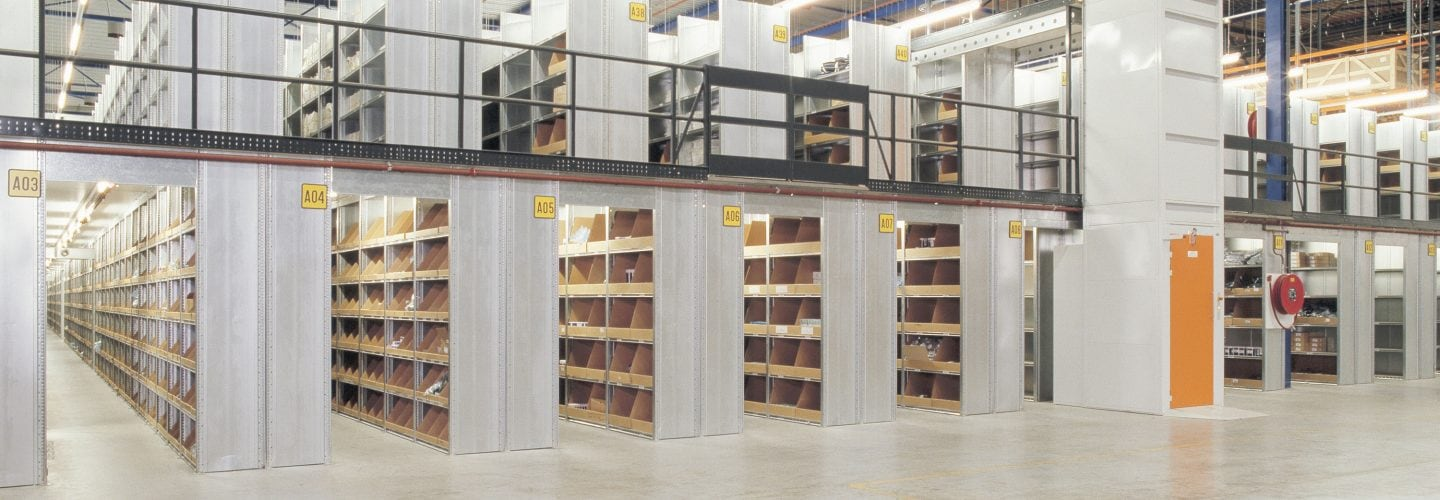 Shelving and racking banner image