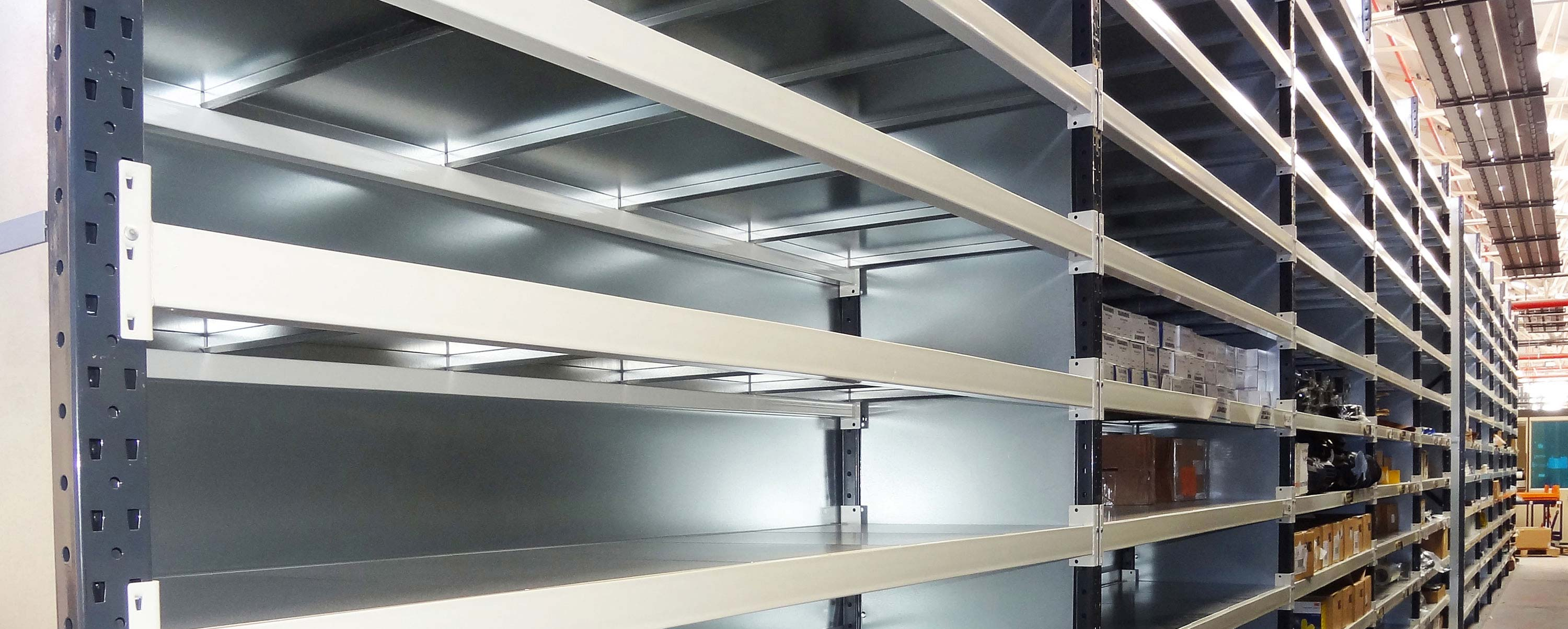 Commercial shelving and racking image