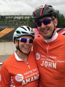 Prudential RideLondon Surrey for Meningitis Now