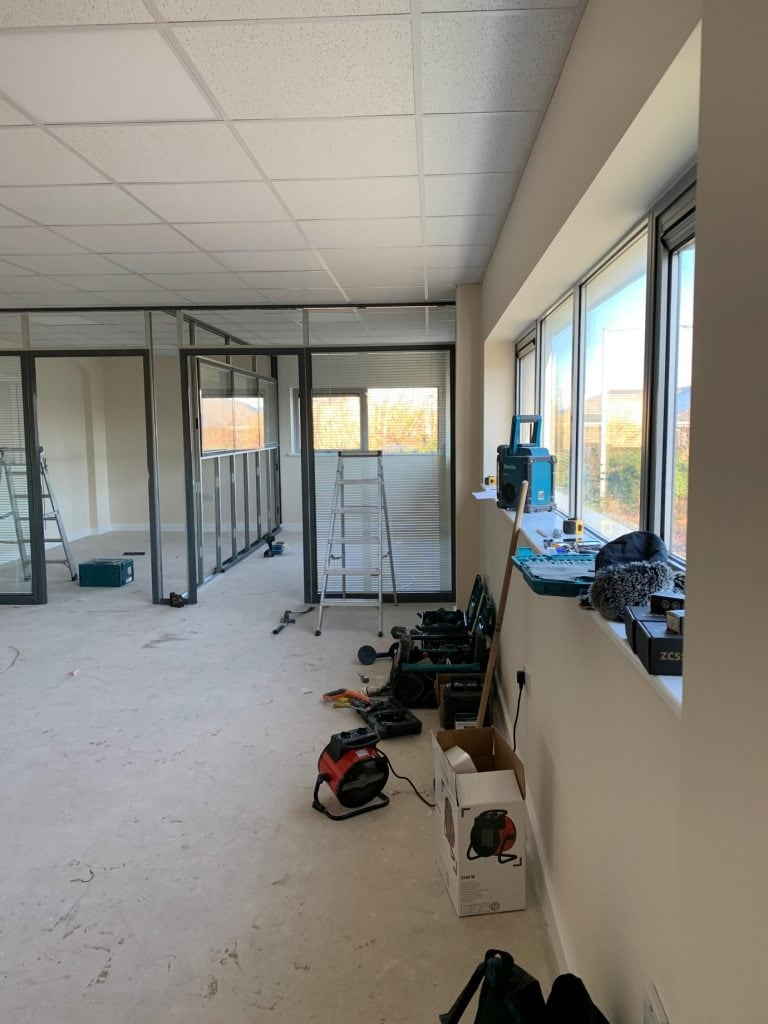 Creating Office Space