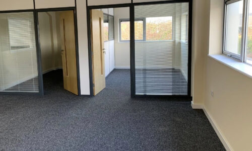 Completed office transformation