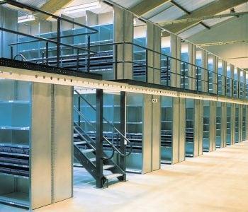 Mezzanine Flooring and storage