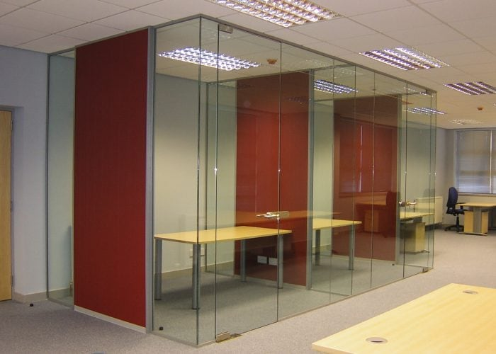 Quartz office partitions