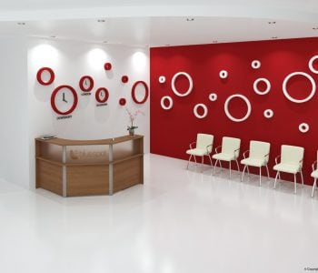 Commercial Reception area