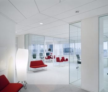 White Suspended Ceiling