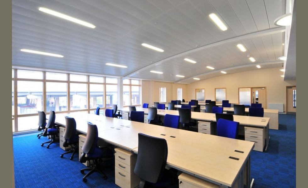 Office Suspended Ceiling Contractors & Fitters - CIS Interiors
