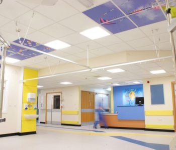 Commercial suspended ceiling