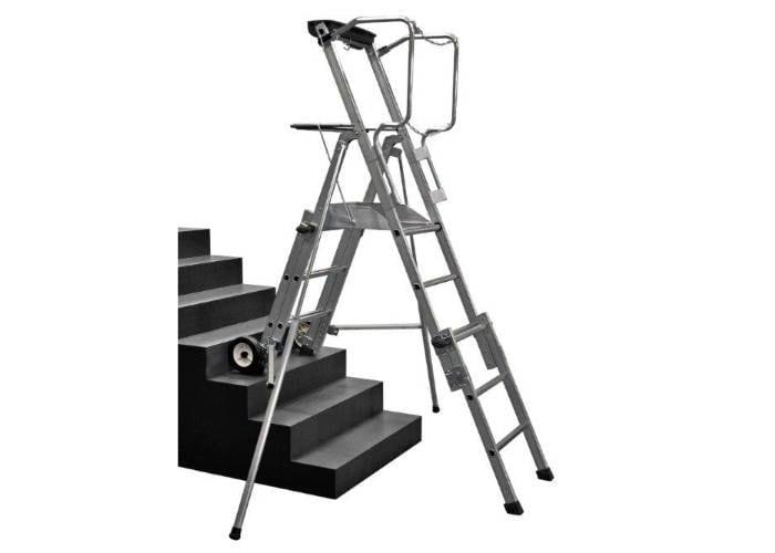 Adjustable Height Telescopic Work Platform