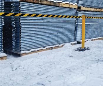 Weatherproof barrier