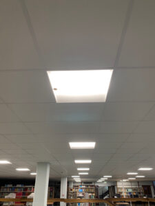 Main Floor Suspended Ceiling