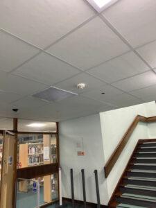 Stairway Suspended Ceiling